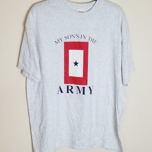 My Son's in the Army Graphic T Shirt